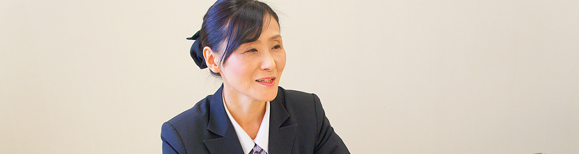 一級葬祭ディレクター・葬儀司会者 箕浦三恵子
